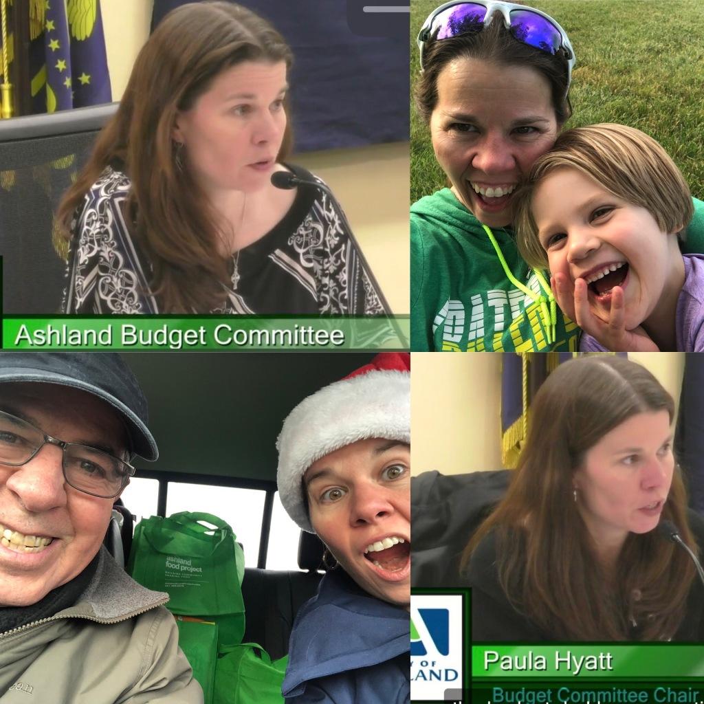 Paula Hyatt Ashland Budget Committee